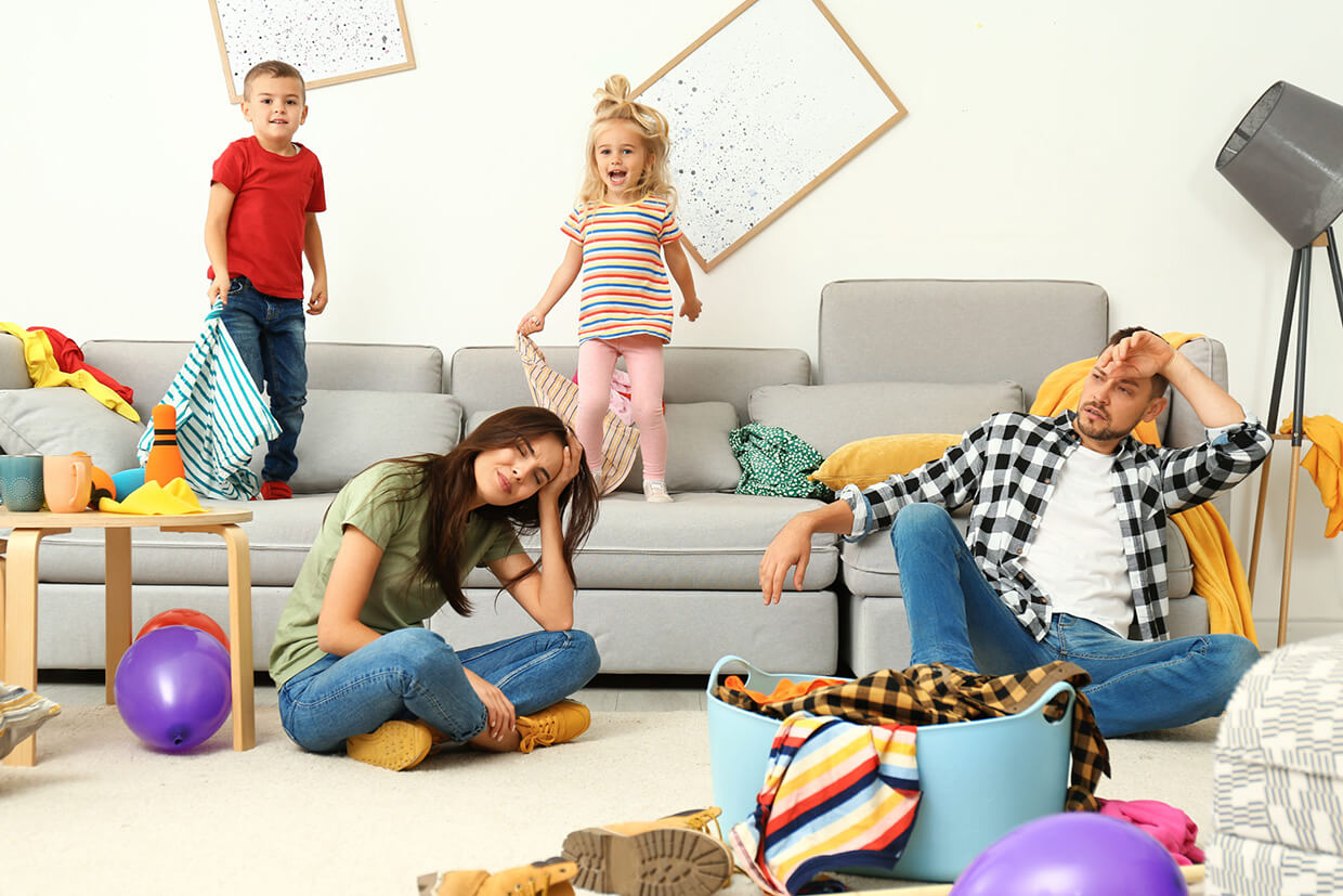 Are You Prepared to Survive Winter Break with the Kids?   Dust to Dazzle House Cleaning Maids